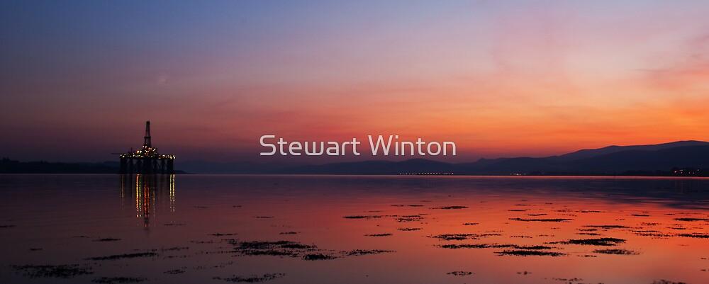 Blood Sky by Stewart Winton