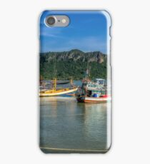 Thai Fishing Harbour iPhone Case/Skin