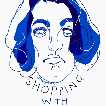 """shopping with Oscar Wilde"" by ellejayerose"