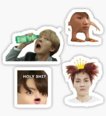 BTS Meme Set 1 Sticker