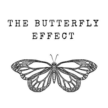 The Butterfly Effect (Black) by JStuartArt