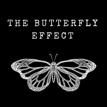 The Butterfly Effect (White) by JStuartArt