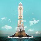Lighthouse Levitation by Vin  Zzep