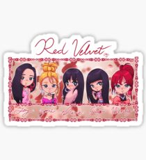 Red Velvet Fanart Stickers Redbubble