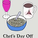 Chef's Day Off by ingridthecrafty