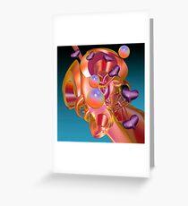 The love machine Greeting Card