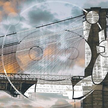 Automaton - Brooklyn Bridge Graffiti by hairybones1997
