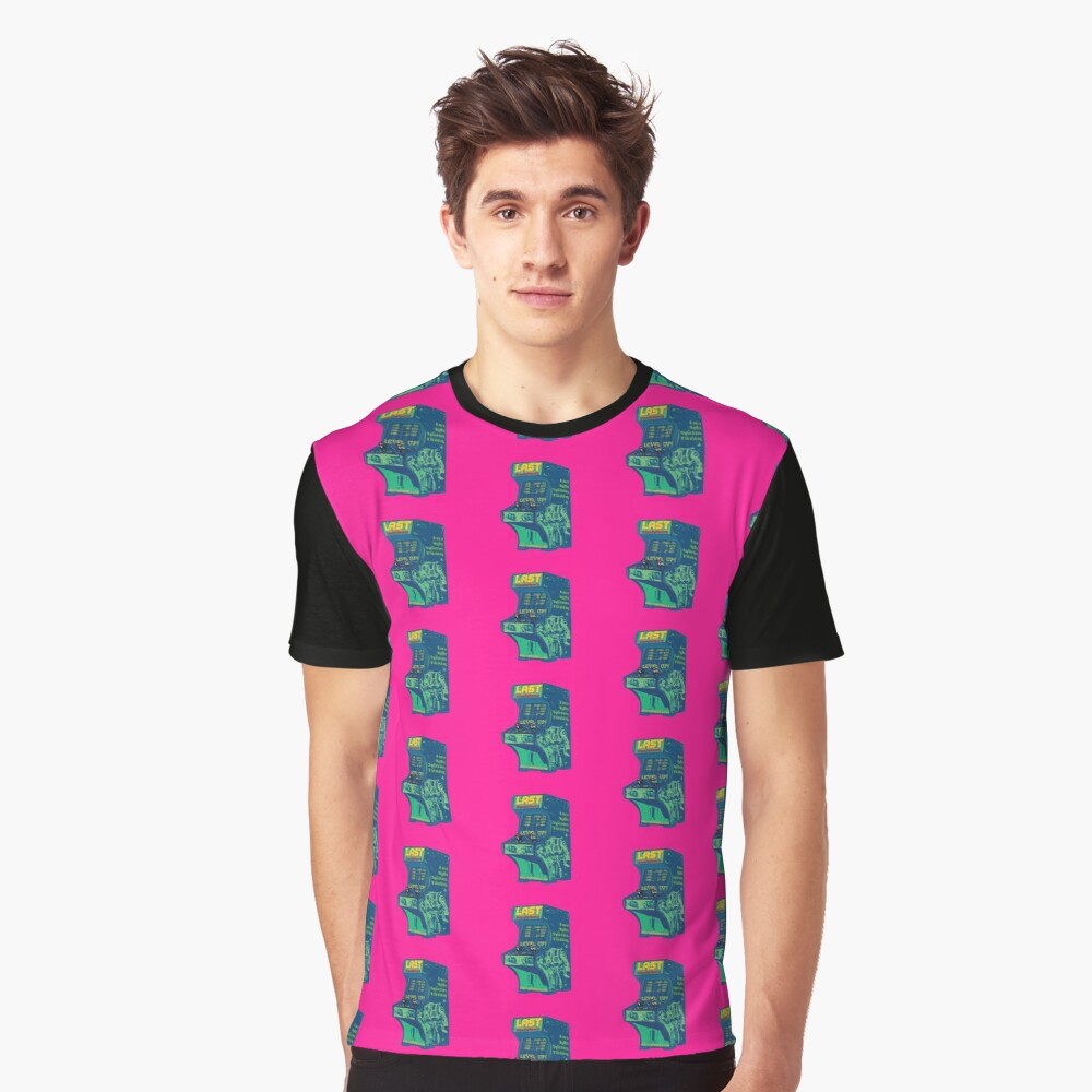 LAST Conference 2018. Hot pink. All Cities Graphic T-Shirt Front