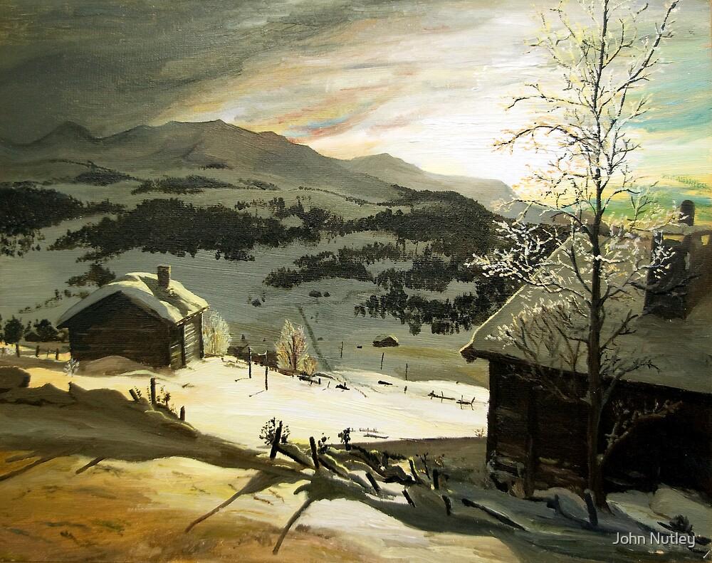 Winter sun by John Nutley