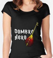 Dombra Hero Women's Fitted Scoop T-Shirt