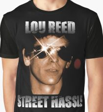 Lou Reed Street Hassle Shirt Graphic T-Shirt