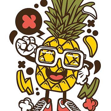 Pineapple Dude by wearitout