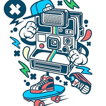 Polaroid Skater by wearitout