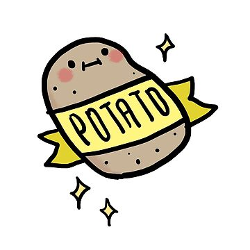 Cute Kawaii Potato by tofusan