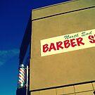 Barber Shop Sign by Oranje