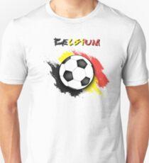 Belgium Football Shirt - Belgium Soccer Shirt Unisex T-Shirt a1fe11800