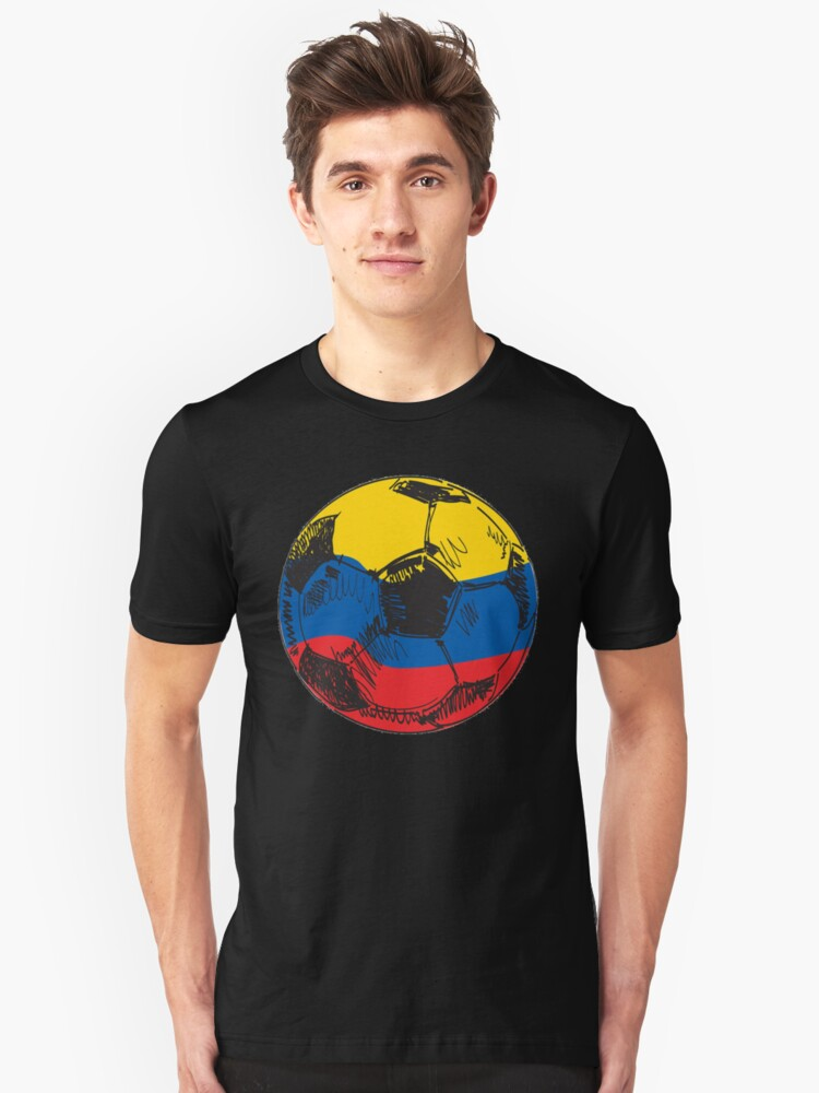 3ab41a52b5c Colombia Soccer Shirt - Colombia Football Shirt - Colombian Soccer Shirt  Unisex T-Shirt