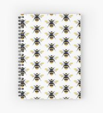 Bumble Bee Watercolor Spiral Notebook