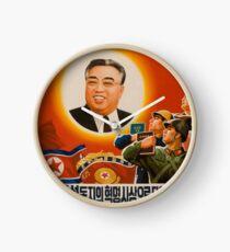 Kim Il-Sung DPRK Nordkorea Kommunismus Kommunist Uhr