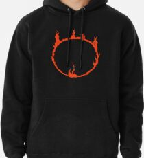 Dark Sign - Red  Pullover Hoodie