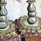 Grey burgundy pastel Torah by hdettman