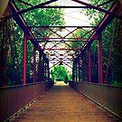 Footbridge by Oranje