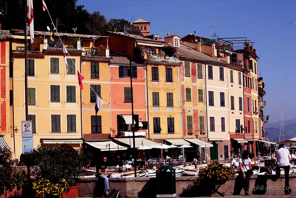 Portofino Afternoon by phil decocco