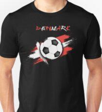 Denmark Soccer Shirt - Denmark Football Shirt - Danish Soccer Shirt Unisex  T-Shirt c7b1cb88b