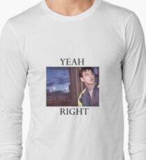 Yeah Right Long Sleeve T-Shirt
