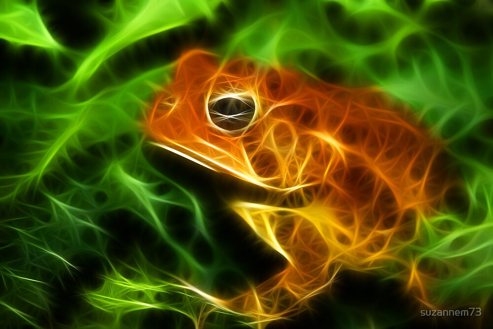 Fractal Toad by suzannem73