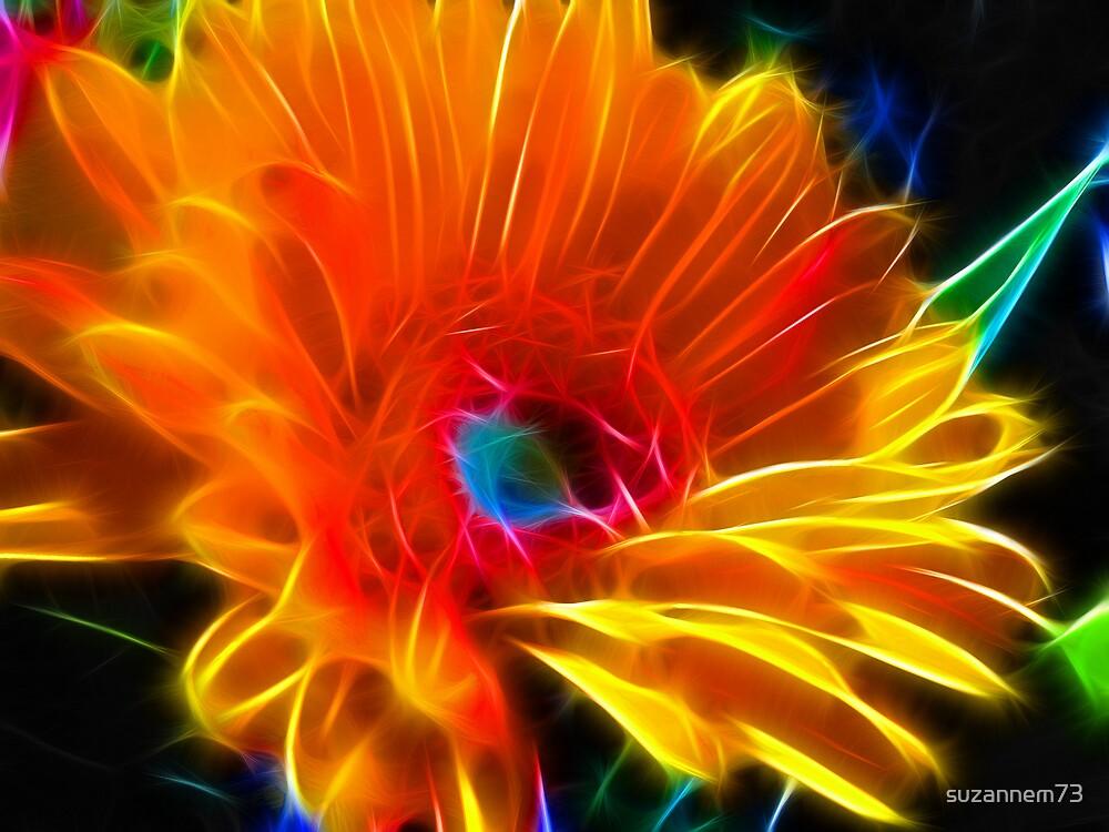 Flaming Petals by suzannem73