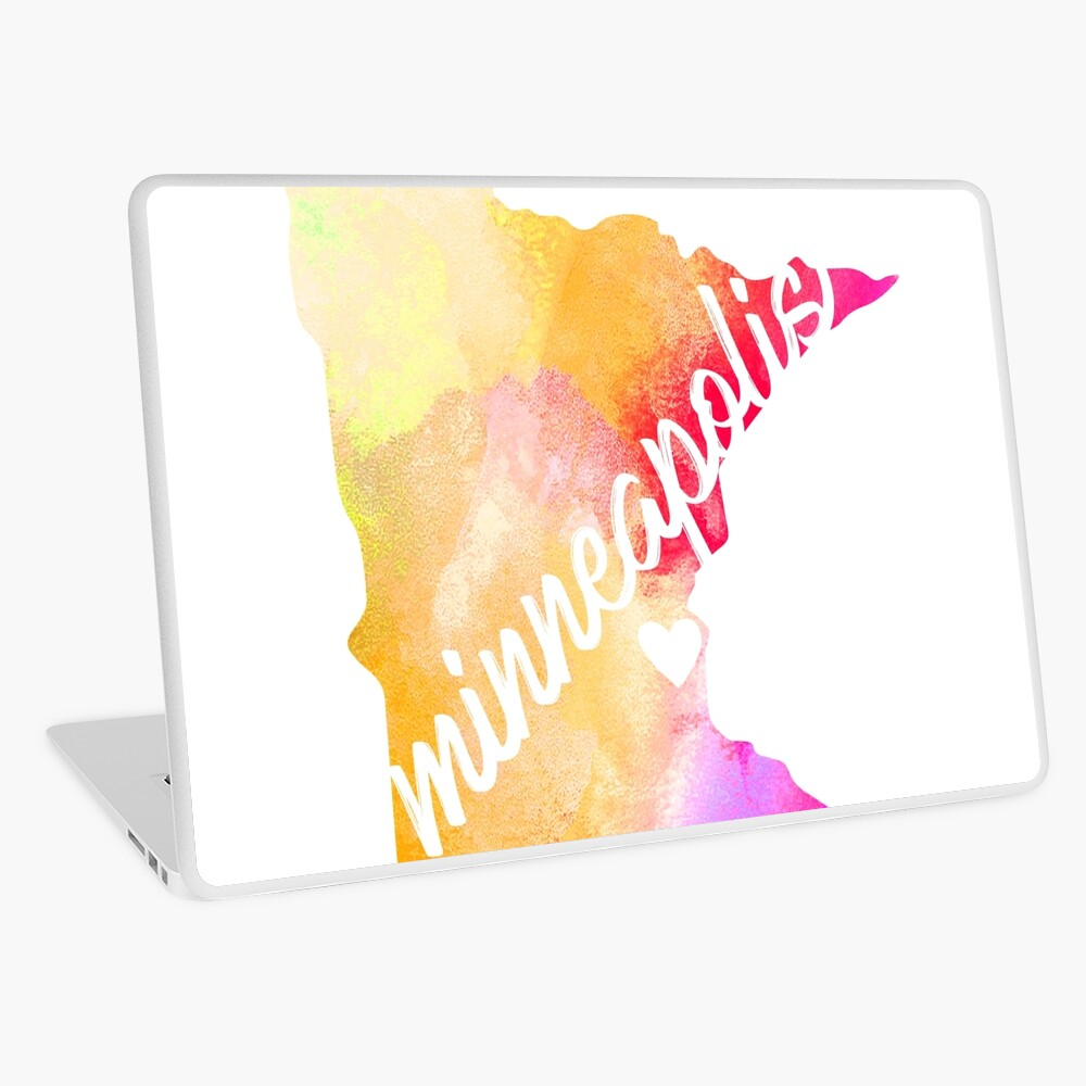 Minneapolis Laptop Skin
