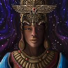 Hathorisis | A High Priestess of Horus   by Daniel Watts