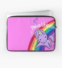 Hello Unicorn (Doodle Graffiti) Most Accurate Altered Carbon  Laptop Sleeve