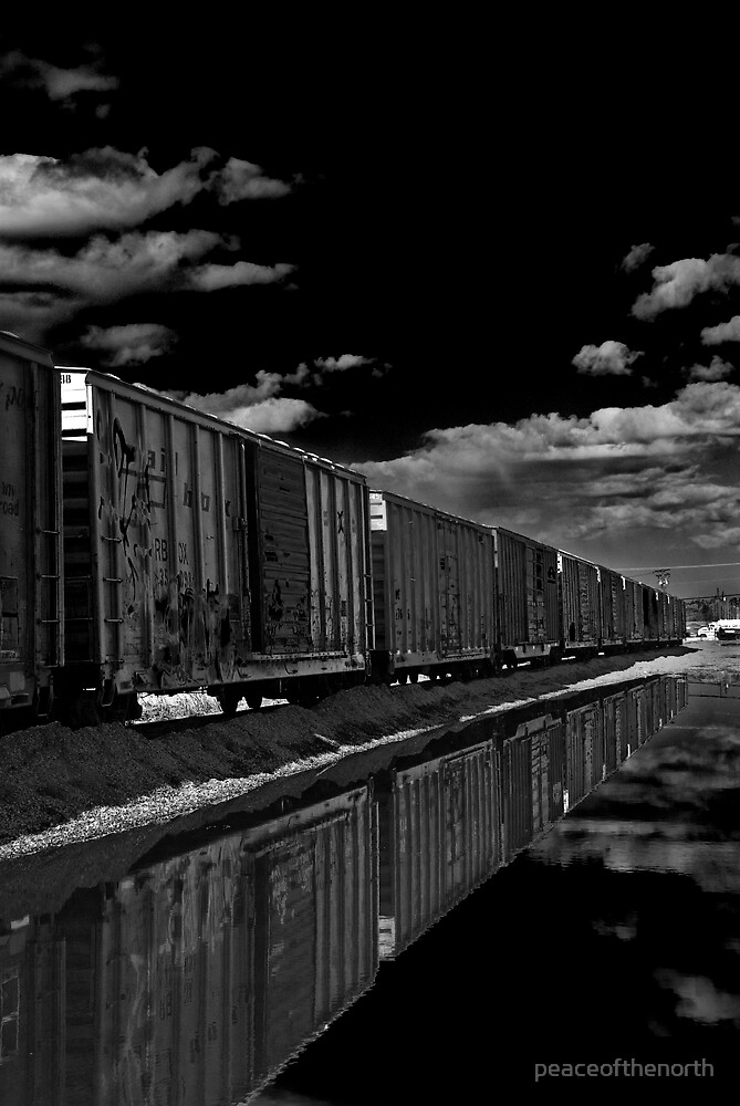 Boxcars by peaceofthenorth