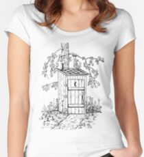 Outhouse Women's Fitted Scoop T-Shirt