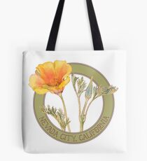 Nevada City Poppy Tote Bag