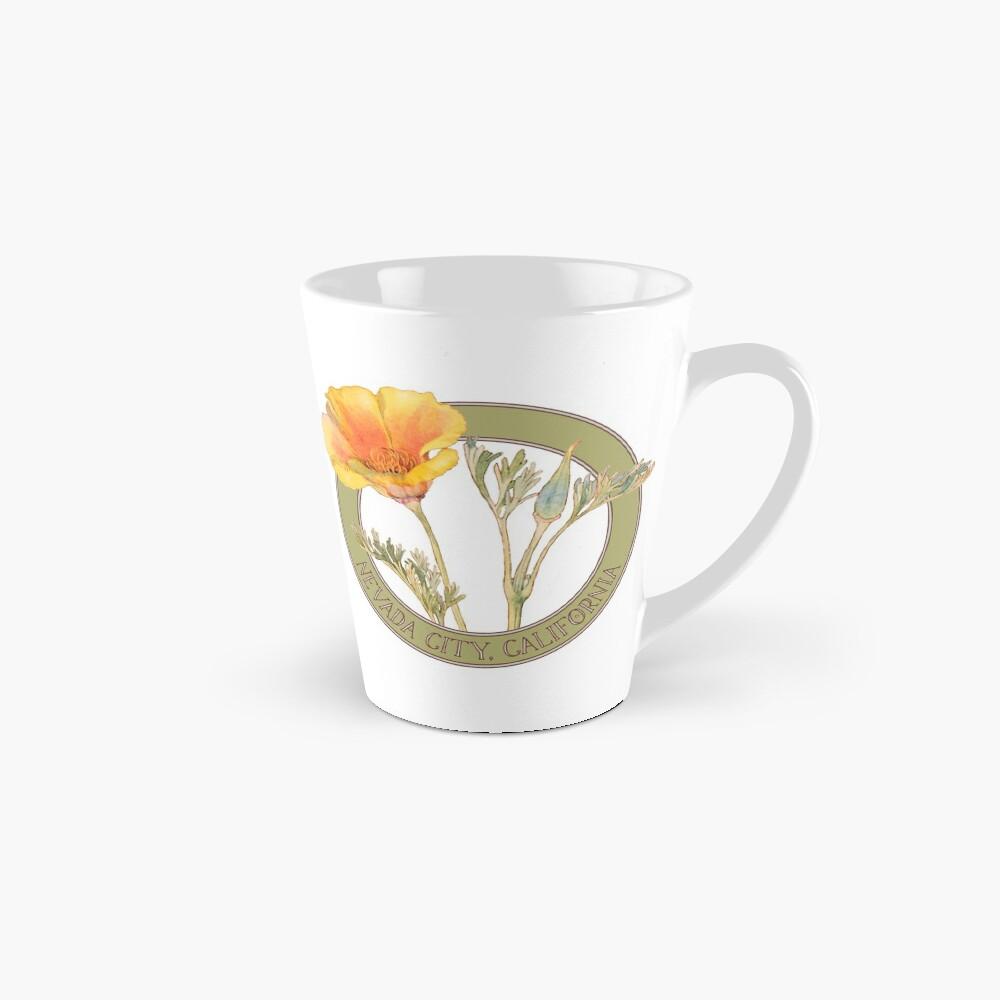 Nevada City Poppy Mug