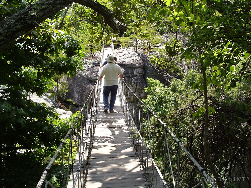 Tenn Swinging Bridge by DeBorah Davis, LMT