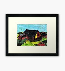 Down On The Farm.. Framed Print