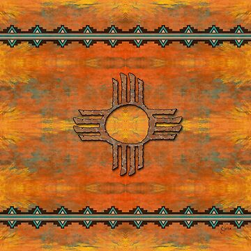Ancient New Mexico Zia by Sena