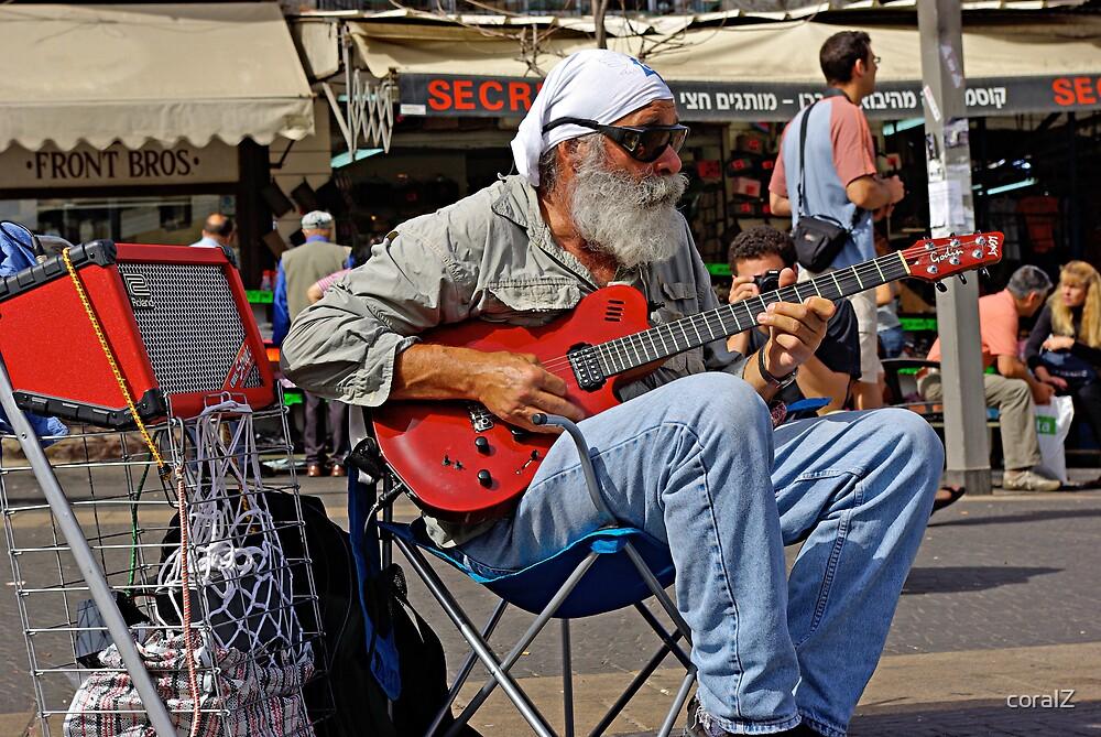 A Guitar Man by coralZ