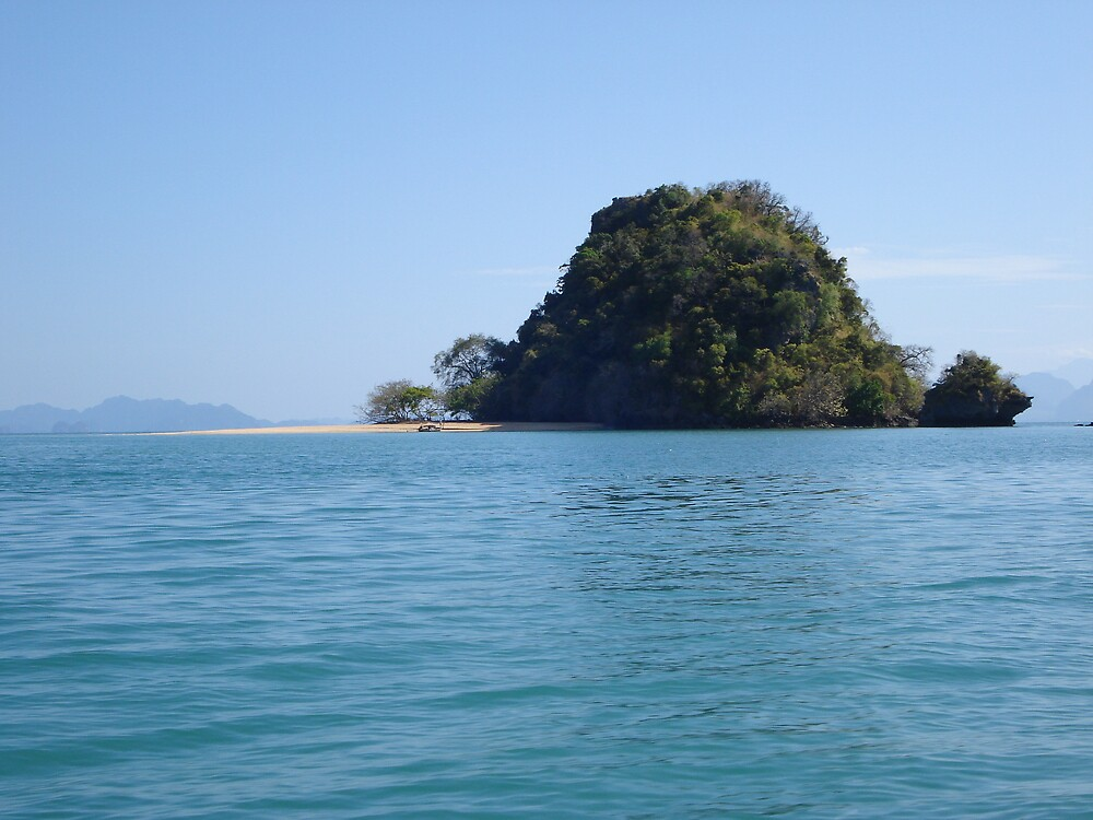 Island Idyll in Phang Nga Bay, Thailand by Rena77uk