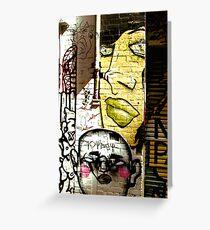 Melbourne Graffiti - Hosier Lane II Greeting Card