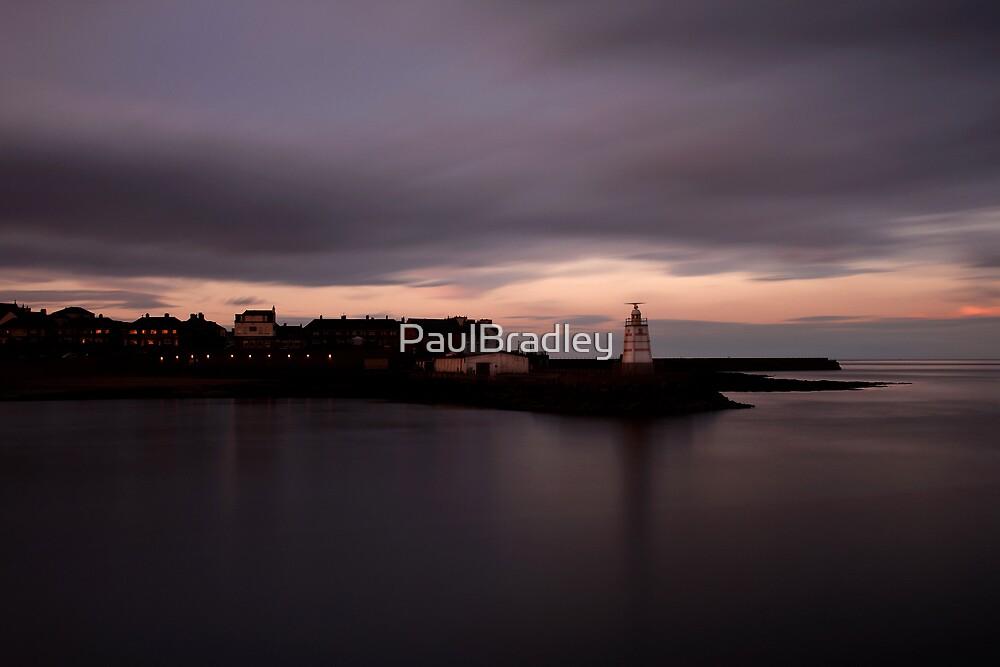 Headland at Dusk by PaulBradley