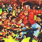 Under 7's Rippa Rugby by lynzart