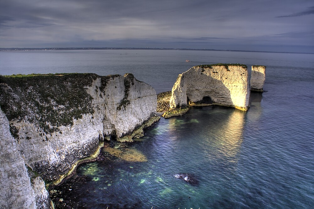 Old Harry Rocks by Nick Ball