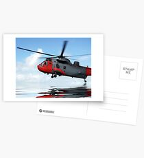 Sea rescue Postcards