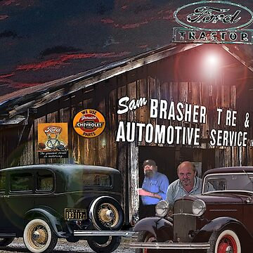 Sam Brasher Tire And Automobile Service by crimsontideguy
