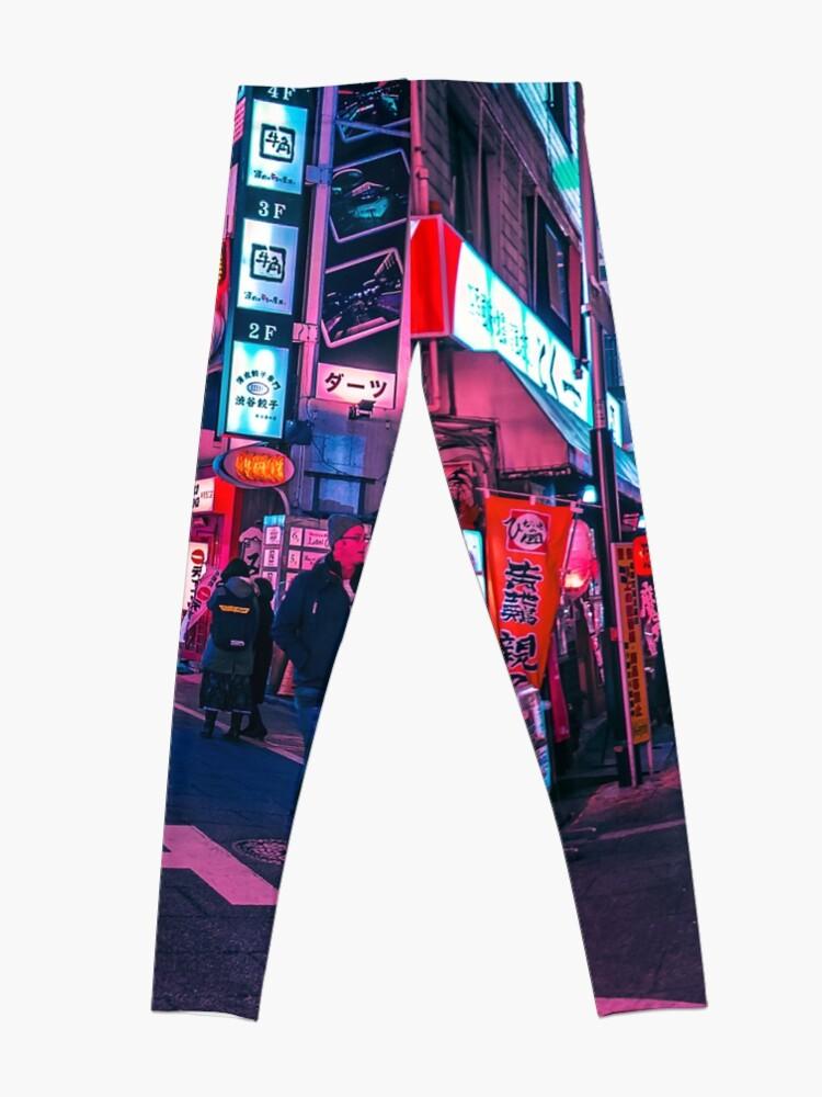Alternative Ansicht von Machen Sie einen Spaziergang unter dem Neon Leggings
